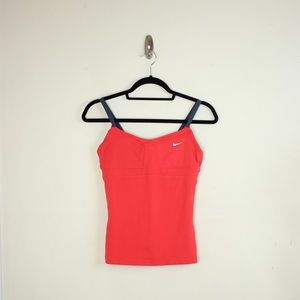 Nike Dri-fit Workout Tank Top in Pink S